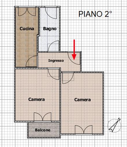 Piantina 2° PIANO SUB 5